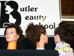 butler beauty school representin'!
