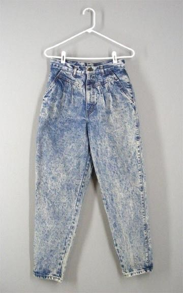 bad acid wash jeans