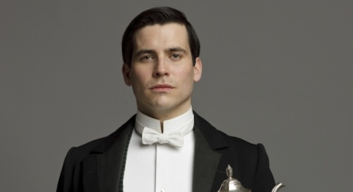 Thomas from the hit PBS series Downton Abbey.
