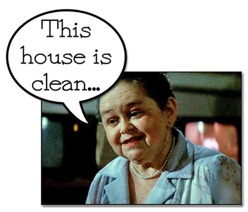The little old lady from Poltergeist.