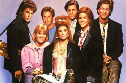 The cast of the hit 1980s movie, St. Elmo's Fire.