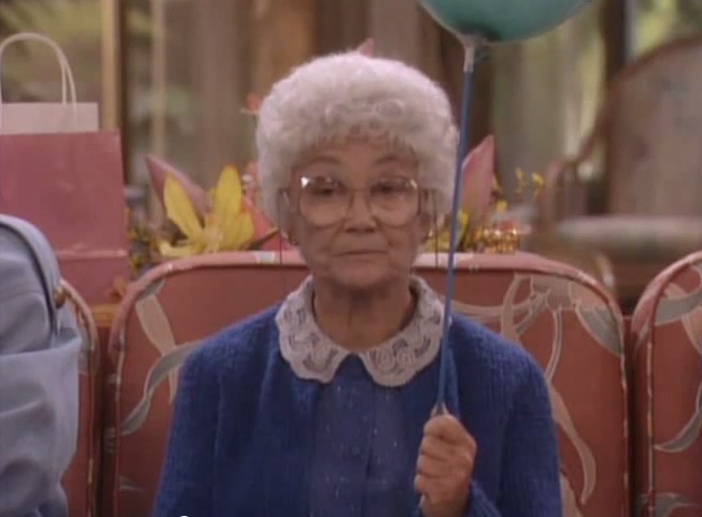 Sophia from the Golden Girls.
