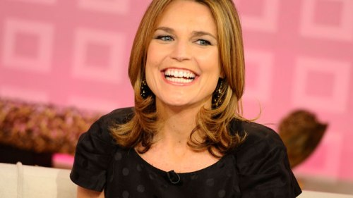 A photo of Today Show host Savannah Guthrie.